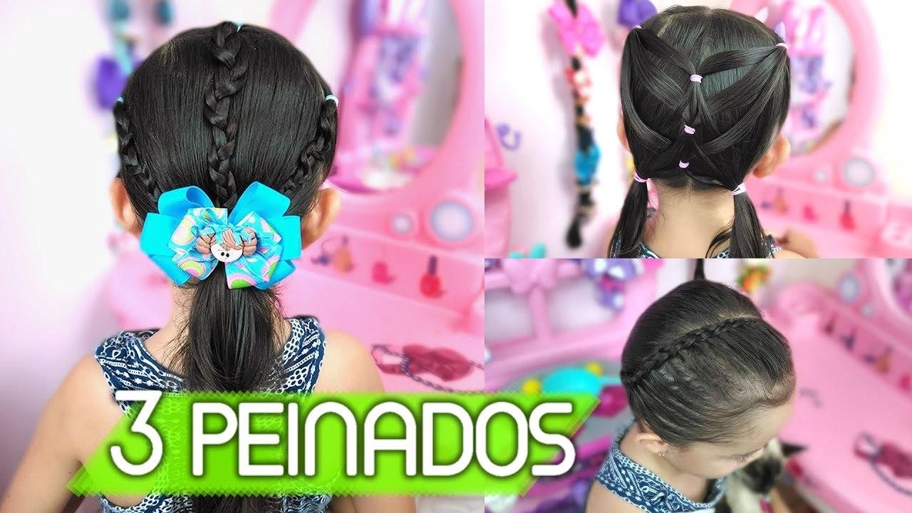 Peinados Para Ninas Peinados Para La Escuela May Lopez May