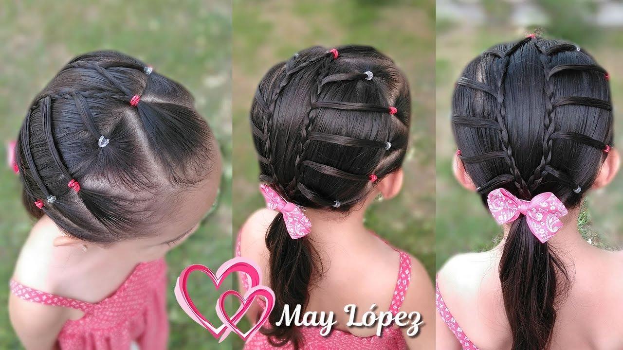 Peinado Elegante Para Niñas Con Poco Cabello May Lopez