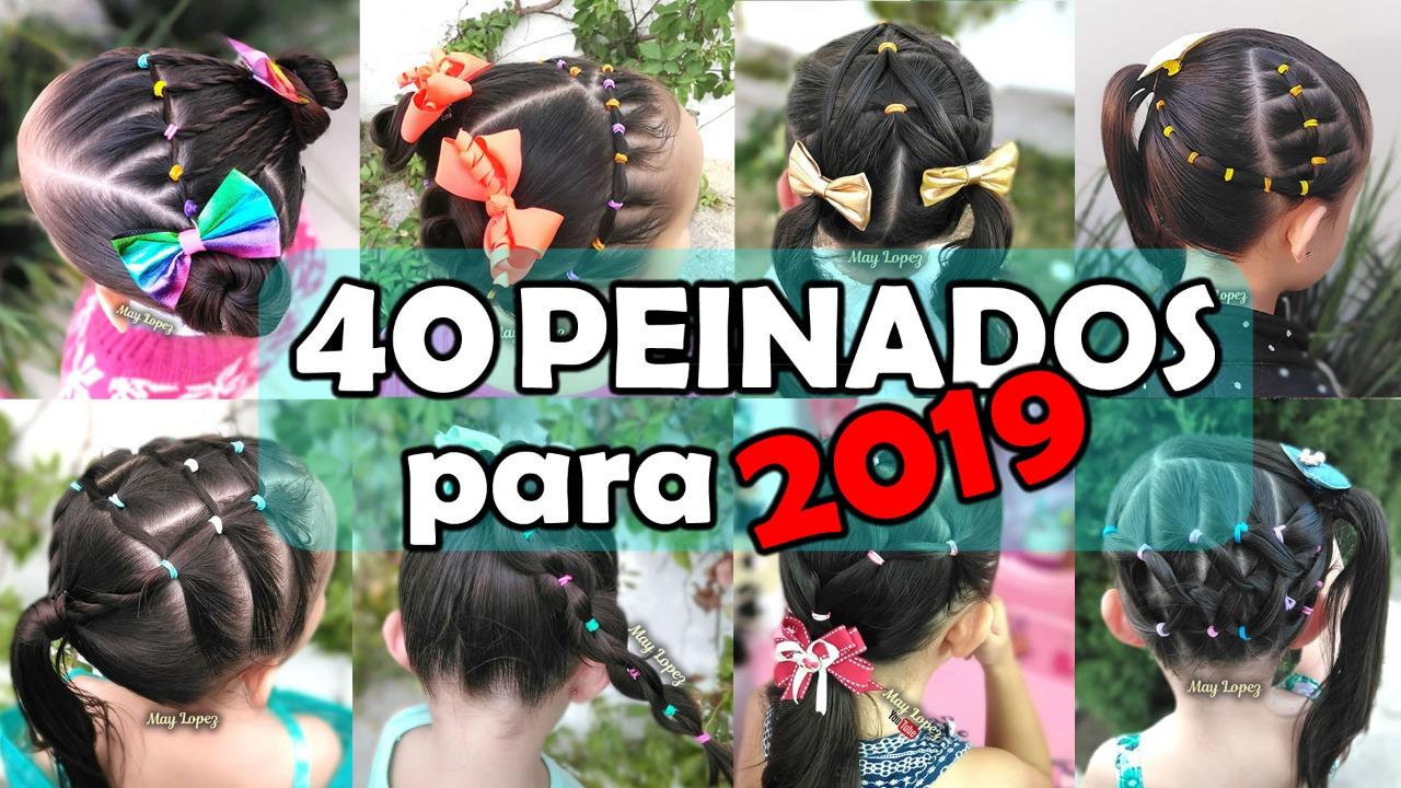 Los Mejores Peinados Para Ninas Del 2019 Best Hairstyles For Girls