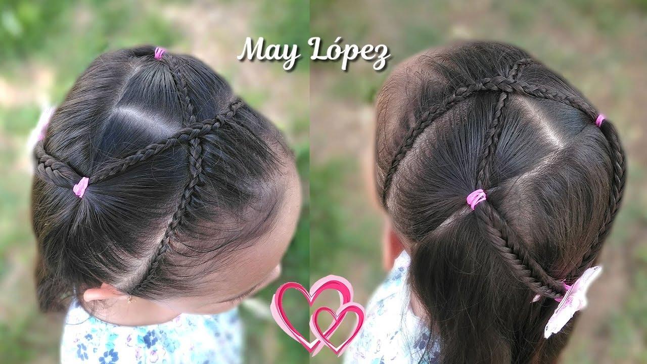 Peinados Para Ninas Con Trenzas Y Pelo Suelto Peinados Para
