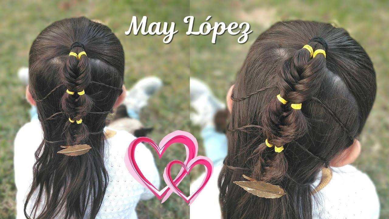 Peinado De Moda Para Nina Peinados Faciles Para Nina May Lopez