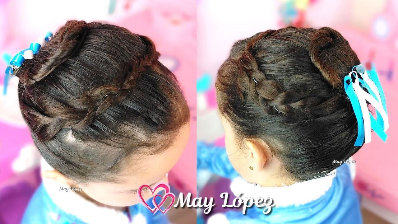 Halloween Peinado Anna Frozen Peinado Para Niñas Para Fiesta May