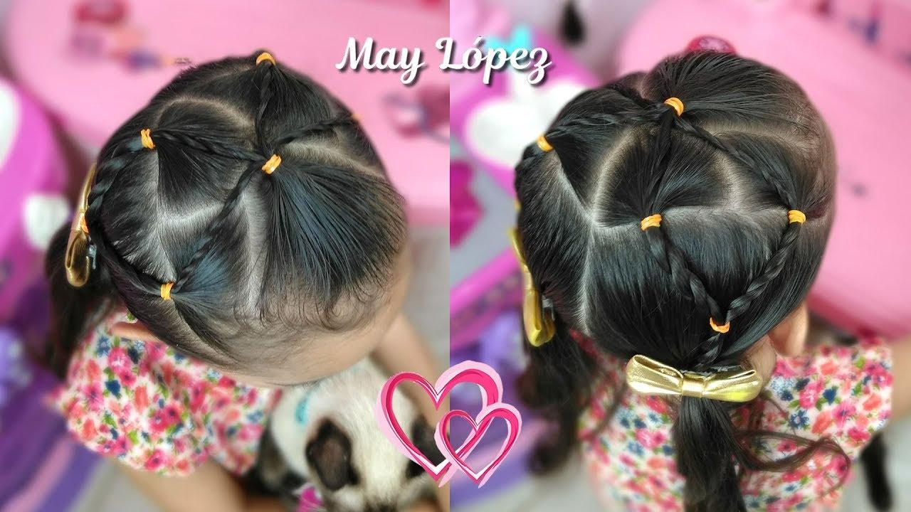 Ver peinados para nina en cabello corto